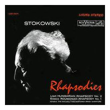 LISZT - ENESCU: Rhapsodies (Stokowski)