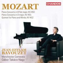 MOZART: Piano Concerto KV 450 & KV 451