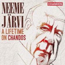 NEEME JARVI: A lifetime on Chandos - 25CD