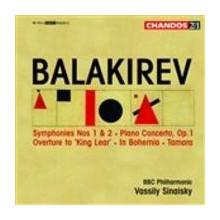 BALAKIREV: Sinfonie NN. ! & 2