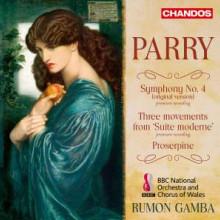 PARRY: Sinf.N.4 - Proserpine - Suite moderne