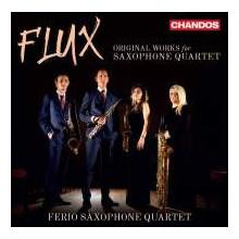 FLUX:Original works for saxophone quarttet