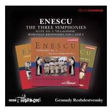 ENESCU: Le 3 Sinfonie e altre opere