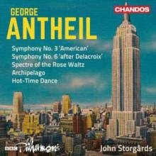 Antheil: Sinfonie Nn.3 & 6 - Archipelago