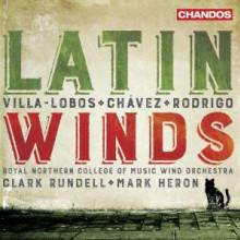 Villa - Lobos - Chavez - Rodrigo: Latin Winds