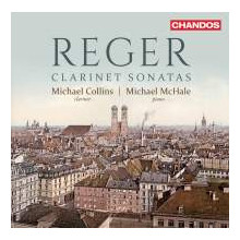 REGER: Sonate per clarinetto e piano