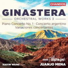 Ginastera: Orchestral Works - Vol.3