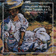 WEINBERG:Opere per violino & piano - Vol.1