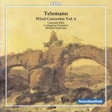 TELEMANN: Concerti per fiati Vol.6