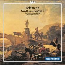 TELEMANN: Concerti per fiati Vol.5