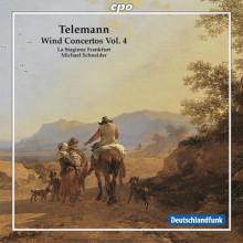 TELEMANN: Concerti per fiati Vol.4