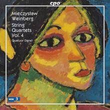 WEINBERG M.: Quartetti per archi - Vol.4