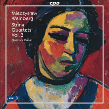 WEINBERG M.: Quartetti per archi - Vol.3