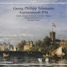 TELEMANN: Kapitaensmusik 1744