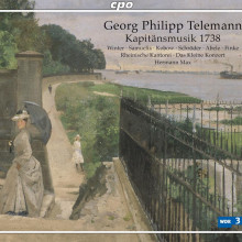 TELEMANN: Kapitaensmusik - 1738