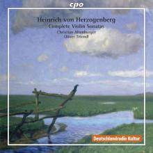 HERZOGEMBER: Sonate per violino - Integ.