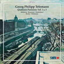 Telemann: Quartetti Parigini Vol.2 & 3