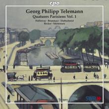 TELEMANN: Quartetti Parigini Vol.1