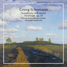 SCHUMANN GEORGE: Sinfonia in b minor