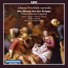 AGRICOLA J.F.: Cantate per il Natale