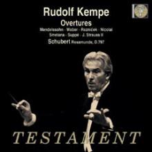 Kempe dirige Mendelssohn - Schubert...