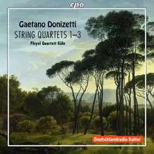 DONIZETTI: Quartetti per archi NN.1 - 3