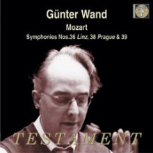 MOZART: Symphony No.36 in C - K.425 'Linz' Symphony No.38 in D - K.504 'Prague' Symphony No.39 in E flat - K.543