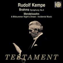 Kempe dirige Brahms e Mendelssohn