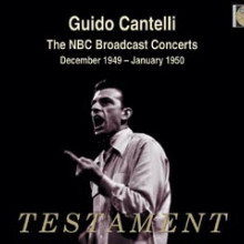 CANTELLI: The NBC Broadcast Concert