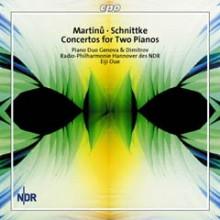 MARTINU: Concerto per piano a 4 mani