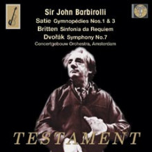 Sir Barbirolli dirige Satie - Britten