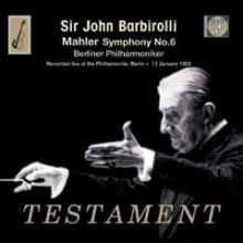 Sir Barbirolli dirige la Sesta di Mahler