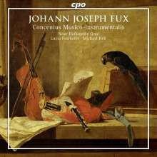 FUX J.J.:Concentus Musico - instrumentalis