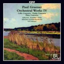 GRAENER: Opere orchestrali - Vol.4