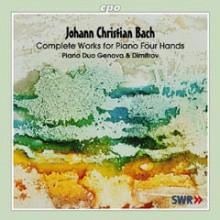 BACH J.C./BACH W.F:Sonate x 2 pianoforti