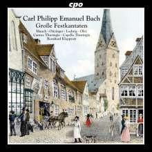 Bach C.p.e.: Grosse Festkantaten