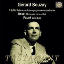 Souzay interpreta De Falla - Ravel - Faur& - 2