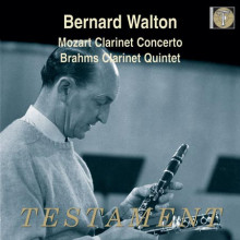 MOZART:  Clarinet Concerto in A - K.622  - JACK BRYMER A Tribute to Bernard Walton BRAHMS Clarinet Quintet in B minor - Op.115