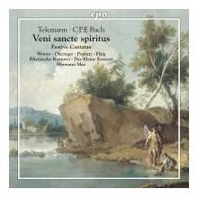 TELEMANN - C.P.E.BACH: Festive Cantatas