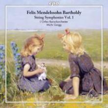MENDELSSOHN: Sinfonie I - VI - Vol.1