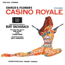 BURT BACHARACH: Casino Royale   (Clarity Vinyl)