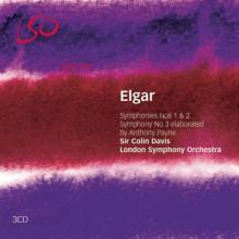 ELGAR: SINFONIE N.1 - 2 & 3 (C.DAVIS - DIR.