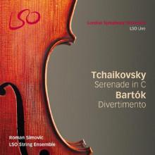 TCHAIKOVSKY:Serenata - BARTOK:Divertimento