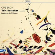 BACH CPE: Trio Sonate x flauto e violino
