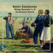 KABALEWSKI: Quartetti per archi NN.1&2