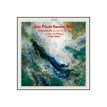 BACH CPE: Sinfonie Wq 173 - 175 - 178 - 180