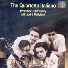 PROKOFIEV - STRAVINSKY - MALIPIERO:Quartetti