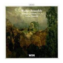 BRAUNFELS: Quartetti per Archi