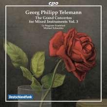 TELEMANN: The Grand Concertos.....Vol.3