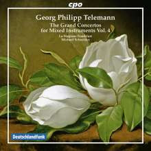 Telemann: The Grand Concertos.....vol.4